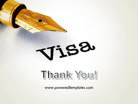 Immigration Visa PowerPoint Template Slide 20