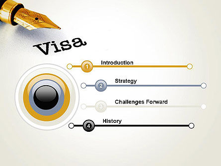 Immigration Visa PowerPoint Template Slide 3