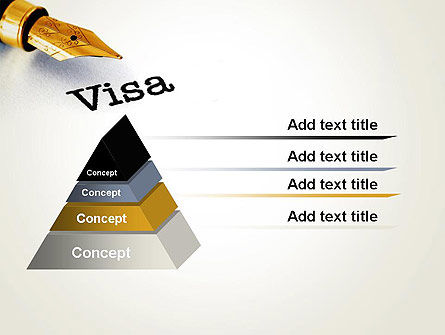 Immigration Visa PowerPoint Template Slide 4