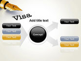 Immigration Visa PowerPoint Template#15