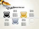 Immigration Visa PowerPoint Template#18