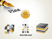 Immigration Visa PowerPoint Template#19