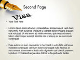 Immigration Visa PowerPoint Template#2