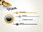 Immigration Visa PowerPoint Template#3