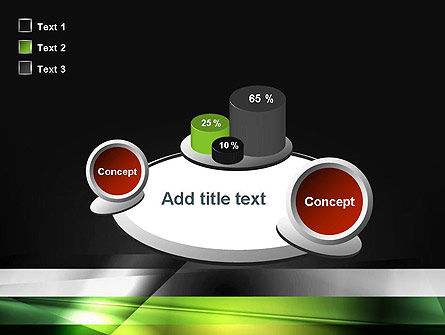 Abstract Motion Blur PowerPoint Template Slide 16