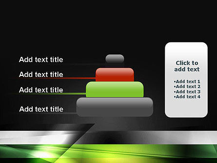 Abstract Motion Blur PowerPoint Template Slide 8