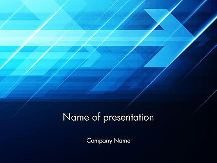 Purposeful Abstract PowerPoint Template, 13832, Business — PoweredTemplate.com