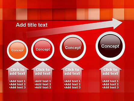 Cut Into Squares Abstract PowerPoint Template Slide 13