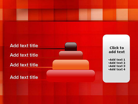 Cut Into Squares Abstract PowerPoint Template Slide 8