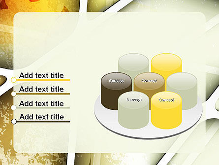 Macro Leaf Structure Abstract PowerPoint Template Slide 12