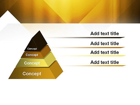 Yellow Air Layers Abstract PowerPoint Template Slide 12