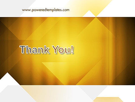 Yellow Air Layers Abstract PowerPoint Template Slide 20