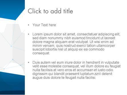 Cogwheels and Thin Lines PowerPoint Template, Slide 3, 13842, Business — PoweredTemplate.com