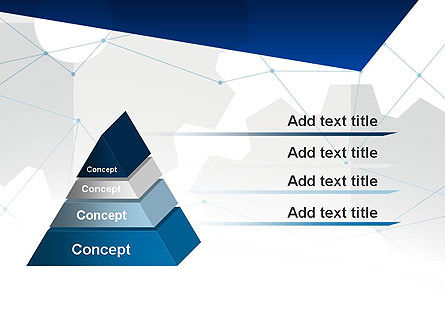 Cogwheels and Thin Lines PowerPoint Template Slide 12