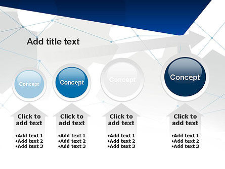 Cogwheels and Thin Lines PowerPoint Template Slide 13