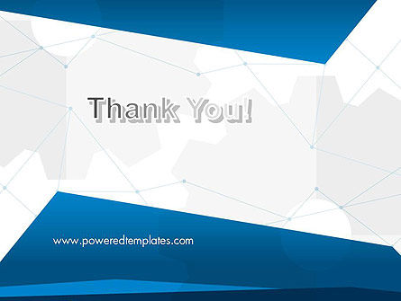 Cogwheels and Thin Lines PowerPoint Template Slide 20