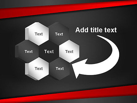 Cut Into Pieces Abstract PowerPoint Template Slide 11