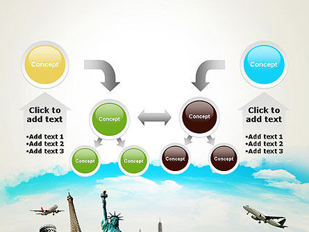 Travel The World PowerPoint Template Slide 19