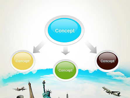 Travel The World PowerPoint Template, Slide 4, 13846, Careers/Industry — PoweredTemplate.com