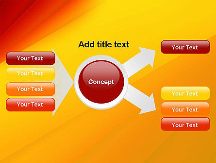 Gradient Yellow to Red PowerPoint Template Slide 14