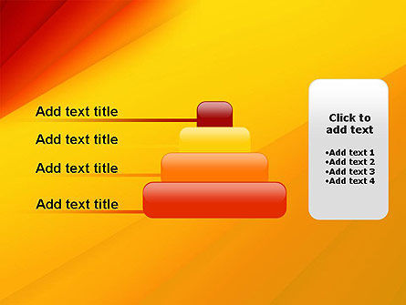 Gradient Yellow to Red PowerPoint Template Slide 8