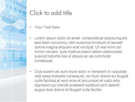 Digitally Generated PowerPoint Template, Slide 3, 13850, Abstract/Textures — PoweredTemplate.com
