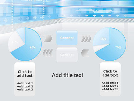 Digitally Generated PowerPoint Template Slide 11