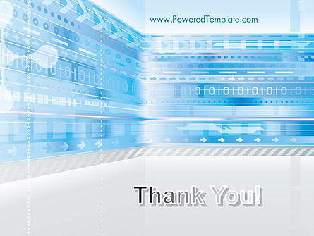Digitally Generated PowerPoint Template Slide 20