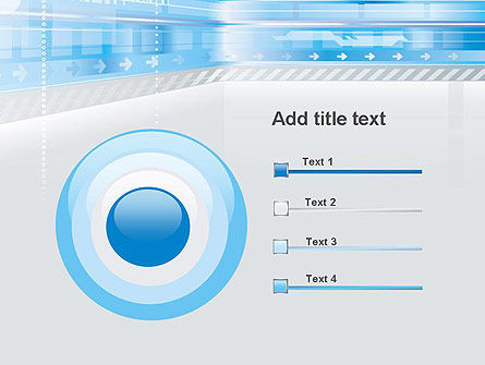Digitally Generated PowerPoint Template Slide 9