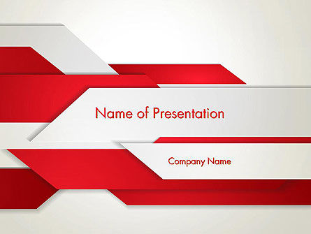 Strips of Paper Abstract PowerPoint Template