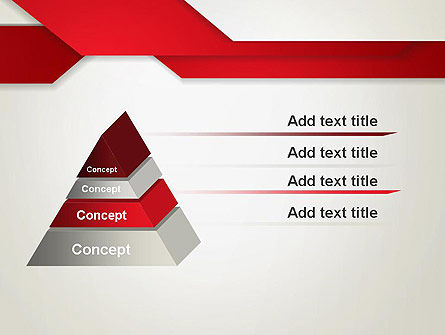 Strips of Paper Abstract PowerPoint Template Slide 12