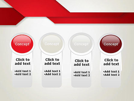 Strips of Paper Abstract PowerPoint Template Slide 5
