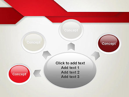 Strips of Paper Abstract PowerPoint Template Slide 7