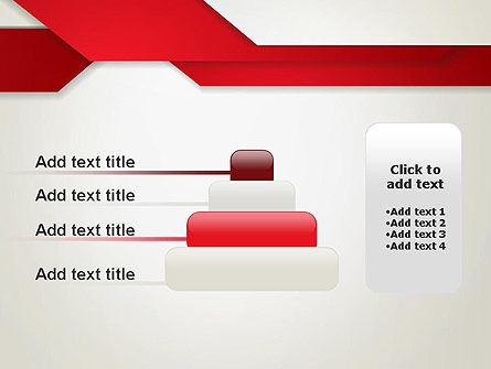 Strips of Paper Abstract PowerPoint Template Slide 8