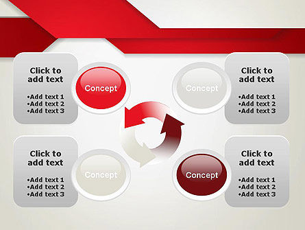 Strips of Paper Abstract PowerPoint Template Slide 9