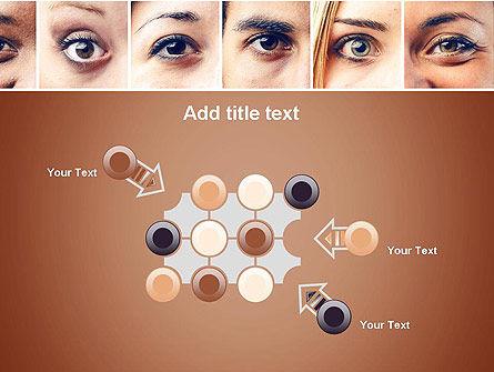 Peoples Eyes PowerPoint Template Slide 10