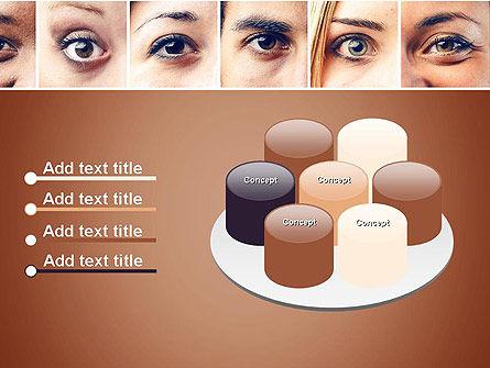 Peoples Eyes PowerPoint Template Slide 12
