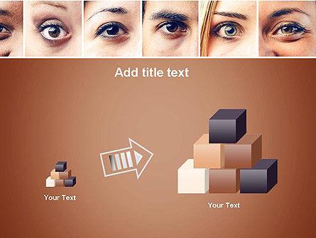 Peoples Eyes PowerPoint Template Slide 13