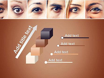 Peoples Eyes PowerPoint Template Slide 14