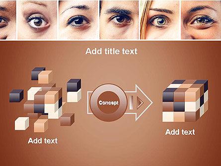 Peoples Eyes PowerPoint Template Slide 17