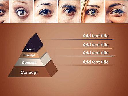 Peoples Eyes PowerPoint Template Slide 4