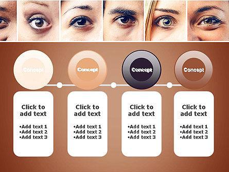Peoples Eyes PowerPoint Template Slide 5