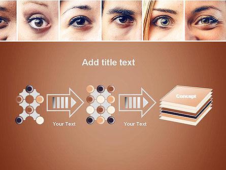 Peoples Eyes PowerPoint Template Slide 9