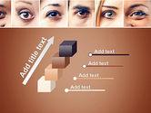 Peoples Eyes PowerPoint Template#14