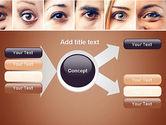 Peoples Eyes PowerPoint Template#15