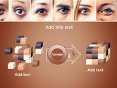 Peoples Eyes PowerPoint Template#17