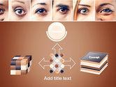 Peoples Eyes PowerPoint Template#19