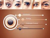 Peoples Eyes PowerPoint Template#3