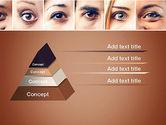 Peoples Eyes PowerPoint Template#4