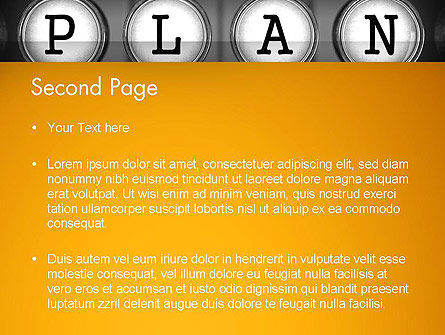 Types of Planning PowerPoint Template Slide 2